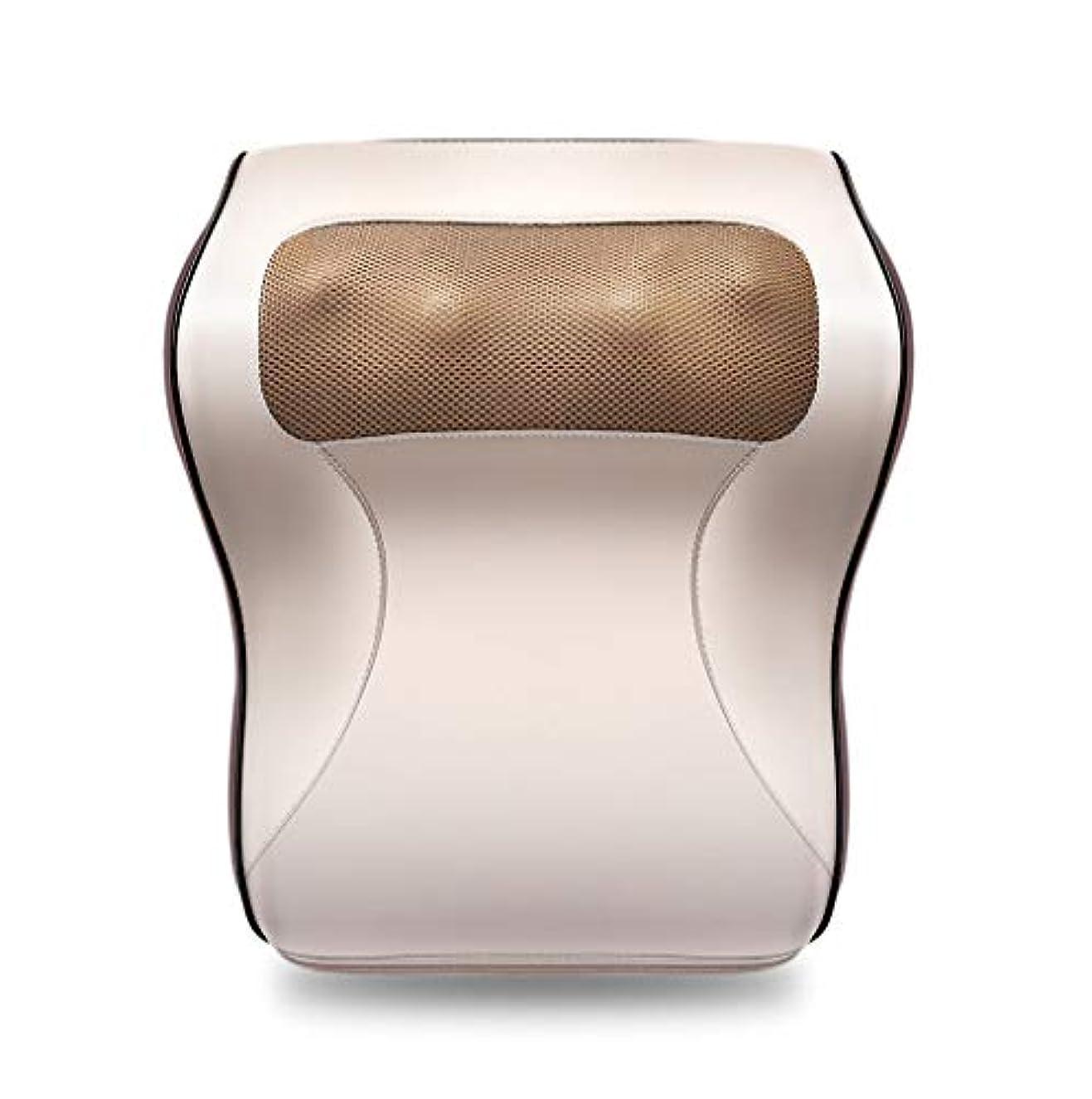 変形するましいベアリングサークル多機能マッサージャー、車/ホームネックショルダーウエストマッサージ枕、オフィスのポータブルマッサージ枕で体の疲れや痛みを和らげる