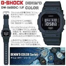 [カシオ]CASIO 腕時計 G-SHOCK DENIM'D COLOR DW-5600DC-1 メンズ [並行輸入品]