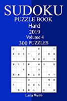 300 Hard Sudoku Puzzle Book, 2019