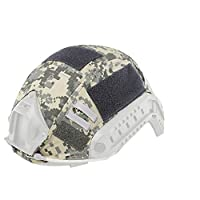 Outdoor Tactical Helmet Accessory Tactical Camouflage Fast Helmet Cover - ACU