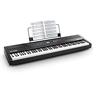 Alesis 88鍵盤 電子ピアノ ハンマーアクション鍵盤 Recital Pro