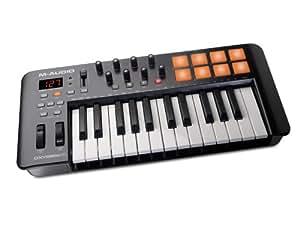 M-Audio USB MIDIキーボード 25鍵 8パッド ・8ノブ Oxygen 25