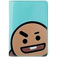 BT21 Official Merchandise by Line Friends - Character Enamel Passport Holder Cover