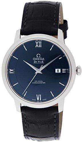 [オメガ]OMEGA 腕時計 デ・ビル ブルー文字盤 コーア...