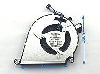 chnasaweノートパソコン交換用CPU冷却ファンと互換性HP PN : 858970–001nfb62a05h-fsfa15m、4ピン