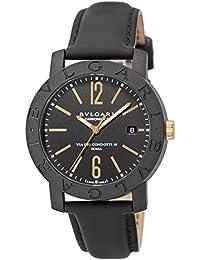 [ブルガリ]BVLGARI 腕時計 カーボンゴールド ブラック文字盤 自動巻 BBP40BCGLD メンズ 【並行輸入品】