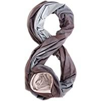 TRAVEL SCARF by WAYPOINT GOODS // Infinity Scarf w/Secret Hidden Zipper Pocket