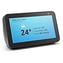 Introducing Echo Show 5 – Compact smart display with Alexa - Charcoal Fabric