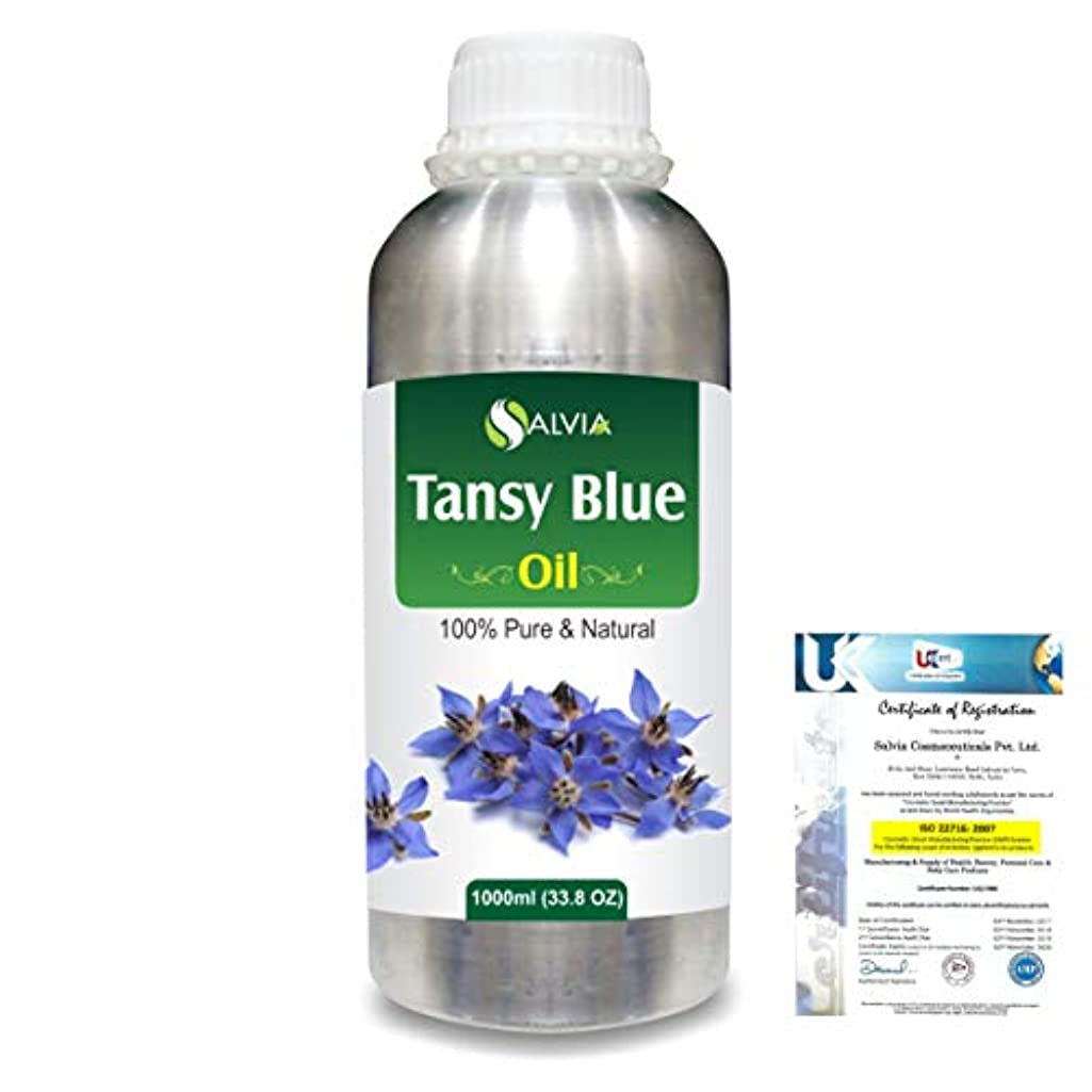 抽出兵士マネージャーTansy Blue (Tanacetum annuum) 100% Natural Pure Essential Oil 1000ml/33.8fl.oz.