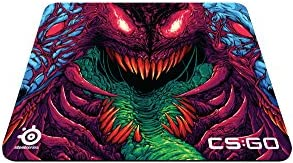 【国内正規品】SteelSeries QcK+ CS:GO Hyper Beast Edition ゲーミング マウスパッド 63800