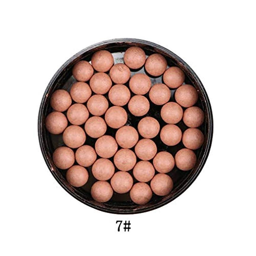 逆説パイ師匠3では1ポータブルブラッシュロングラスティング顔料マットナチュラルフェイスブラッシュボールオイルコントロール輪郭ブラッシュブロンザー