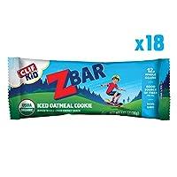 海外直送品 Clif Bar ZBar, Iced Oatmeal Cookies , 18 - 1.27 oz Bars