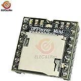 DFPlayer Mini MP3 Player Module TF Card U Disk Mini MP3 Player Audio Audio Decoder Board for Arduino DF Play I/O Serial Port AD