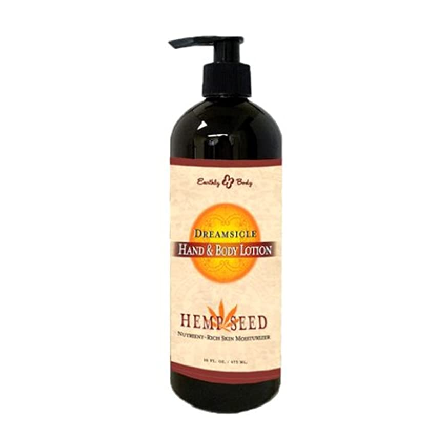 せっかち早く磁石Hand & Body Lotion Dreamsicle 16oz by Earthly Body