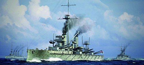 トランペッター 1/700 イギリス海軍戦艦 HMS ドレッドノート 1915 プラモデル