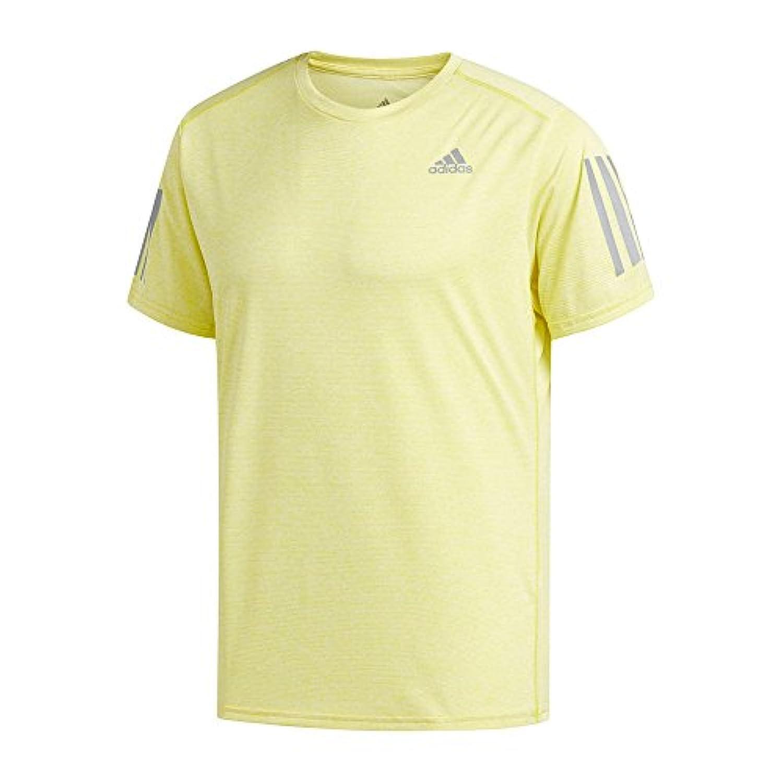 adidas(アディダス) メンズ ランニングウェア RESPONSE 半袖クライマクールTシャツM ジョギング EEO05 CZ5092ショックイエロー L