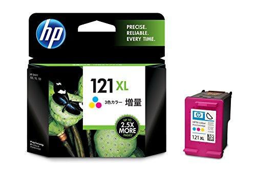 HP 121XL インクカートリッジ カラー (増量) CC644HJ