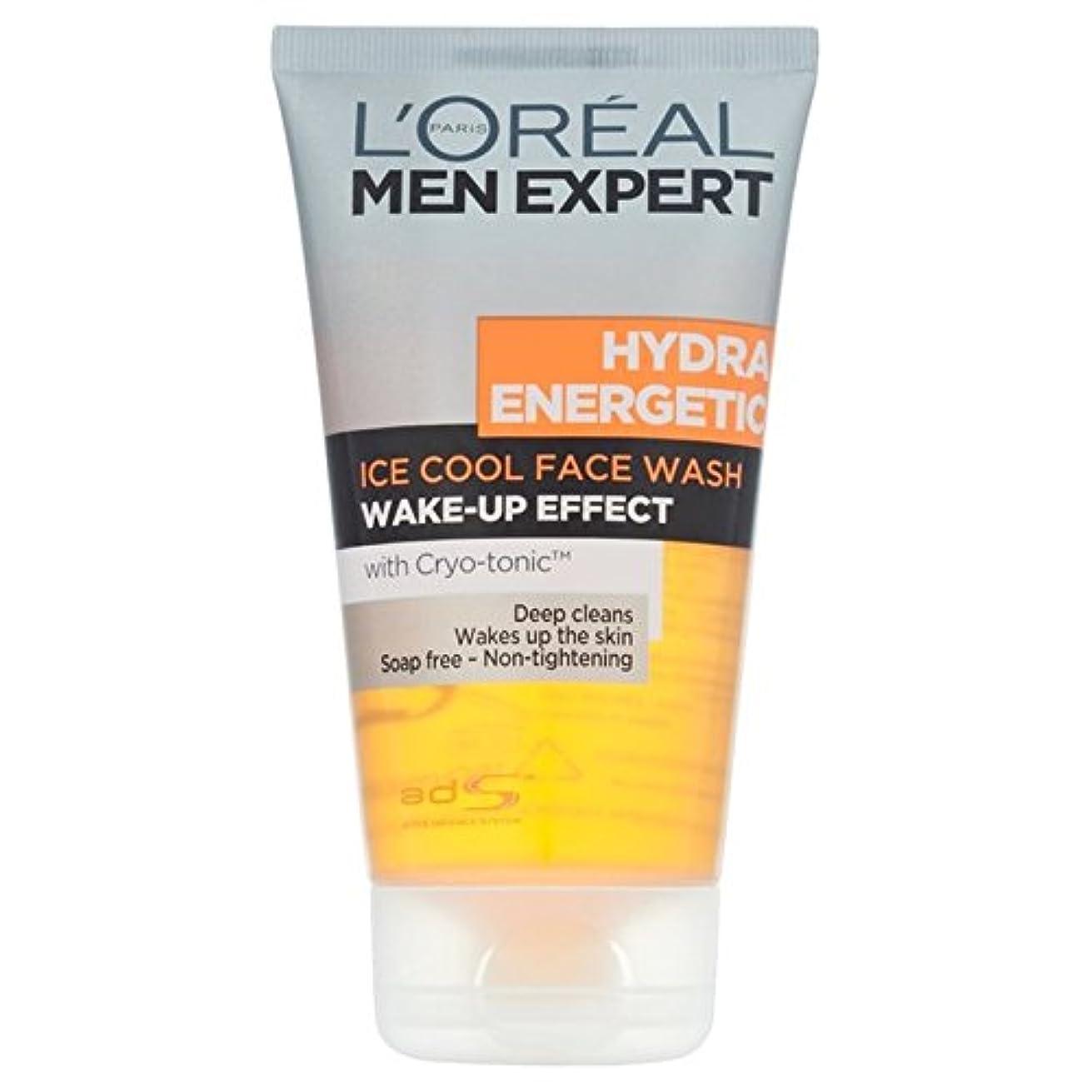 ラリーカバレッジ貞L'Oreal Men Expert Hydra Energetic Foaming Cleansing Gel 150ml - ロレアルの男性の専門家ヒドラエネルギッシュな発泡クレンジングジェル150 [並行輸入品]