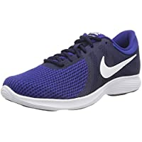 Nike Men's Revolution Shoes, Black/White