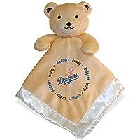 Baby Fanatic Security Bear Blanket, LA Dodgers by Baby Fanatic