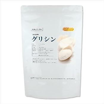 グリシン 1kg(glycine) 国内製造品 【付属スプーン】 [01] NICHIGA(ニチガ)