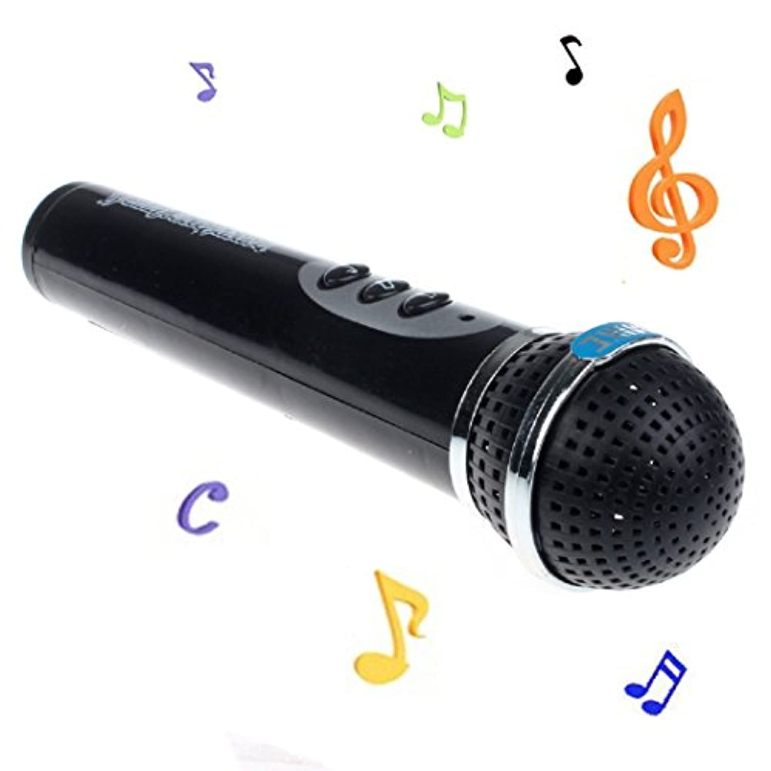 Iuhan Girls Boys Microphone Mic Karaoke Singing Kid Funny Gift Music Toy (not include the battery)