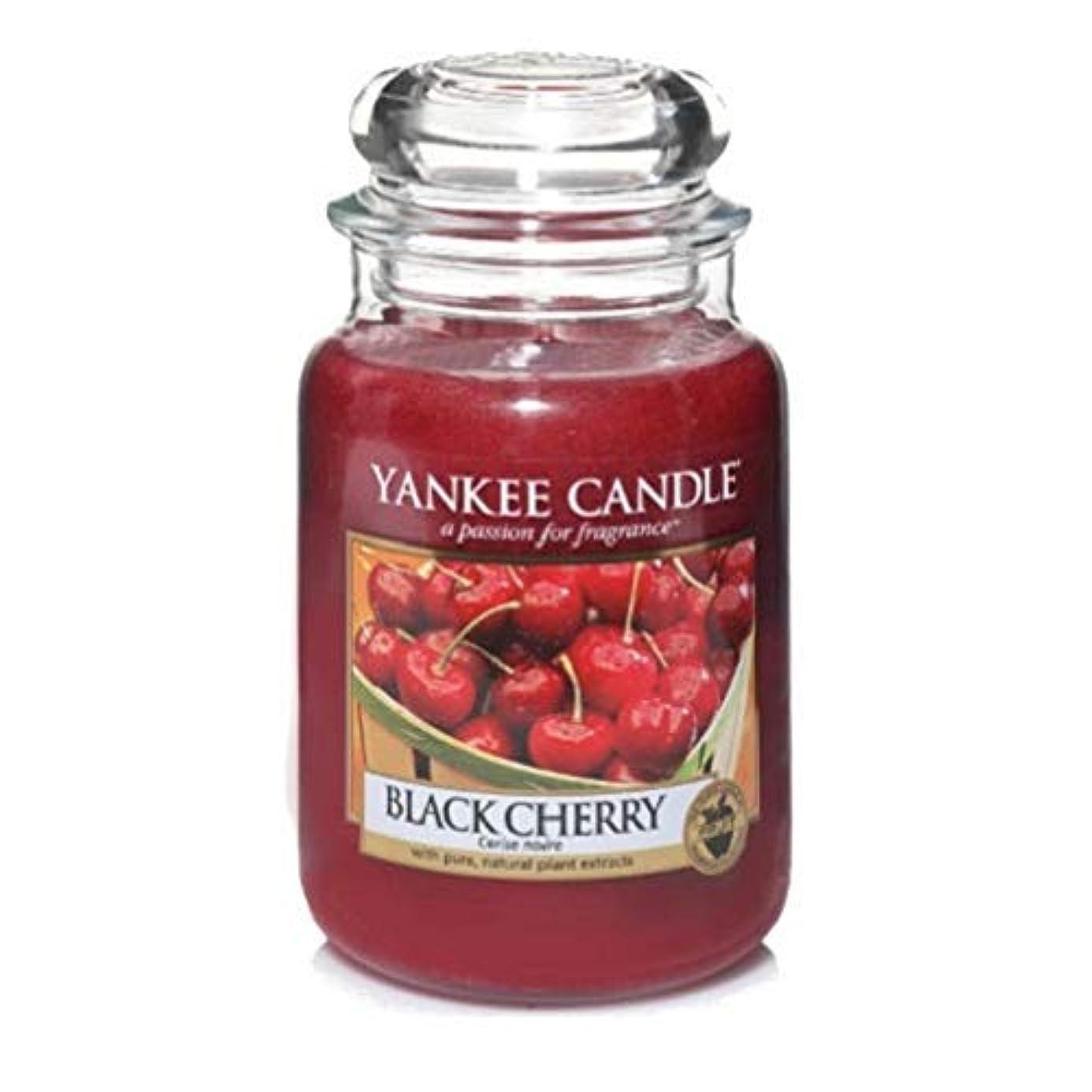 アセンブリ勝利した集団的Yankee Candle 22-Ounce Jar Scented Candle, Large, Black Cherry by Amazon source [並行輸入品]