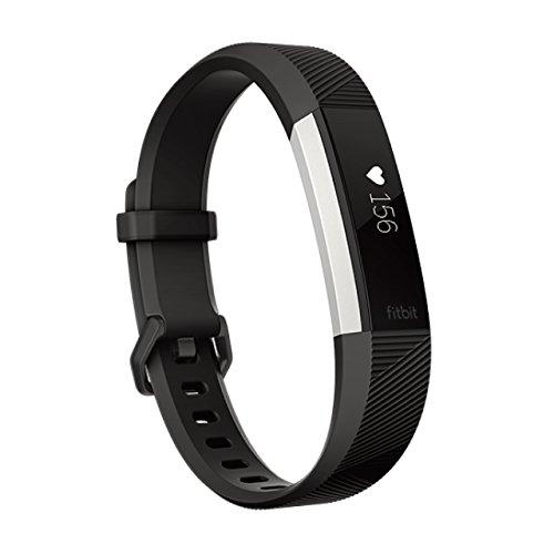 Fitbit フィットビット 活動量計 AltaHR バッテリーライフ最大7日間 睡眠ステージ記録 歩数&距離&カロリー記録 耐水性能 着信/テキスト通知 24時間心拍測定 Black ブラック Sサイズ【日本正規品】FB408SBKS-CJK