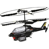 Interactive Toy Concepts BladeRunner BlackGhost 2CH IR Control Helicopter [並行輸入品]
