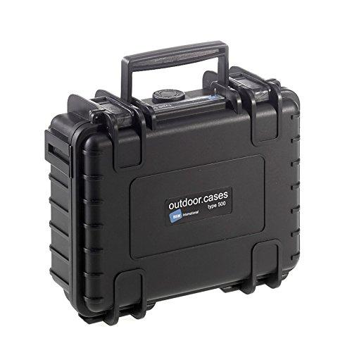 【国内正規品】 B&W Internatinal ケース 防水 ハードケース OUTDOOR CASES TYP500 スポンジタイプ BW0003