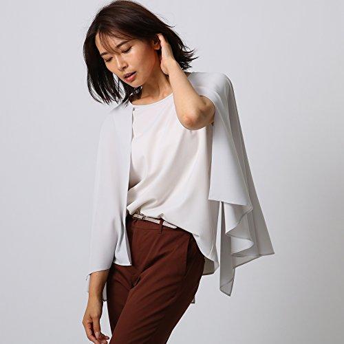 (アンタイトル) UNTITLED 【洗える】マントデザインシャツ 15385202