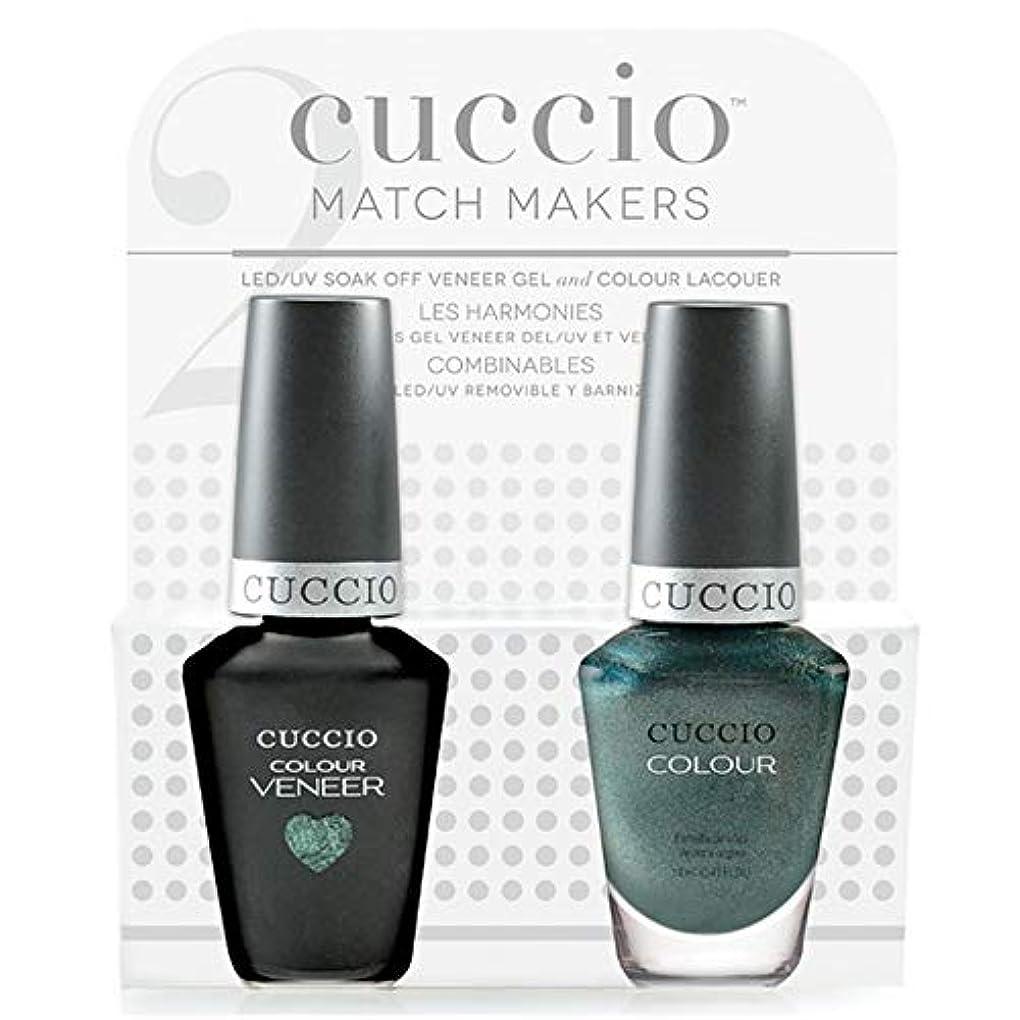 沿ってメタルライン優遇Cuccio MatchMakers Veneer & Lacquer - Notorious - 0.43oz / 13ml Each