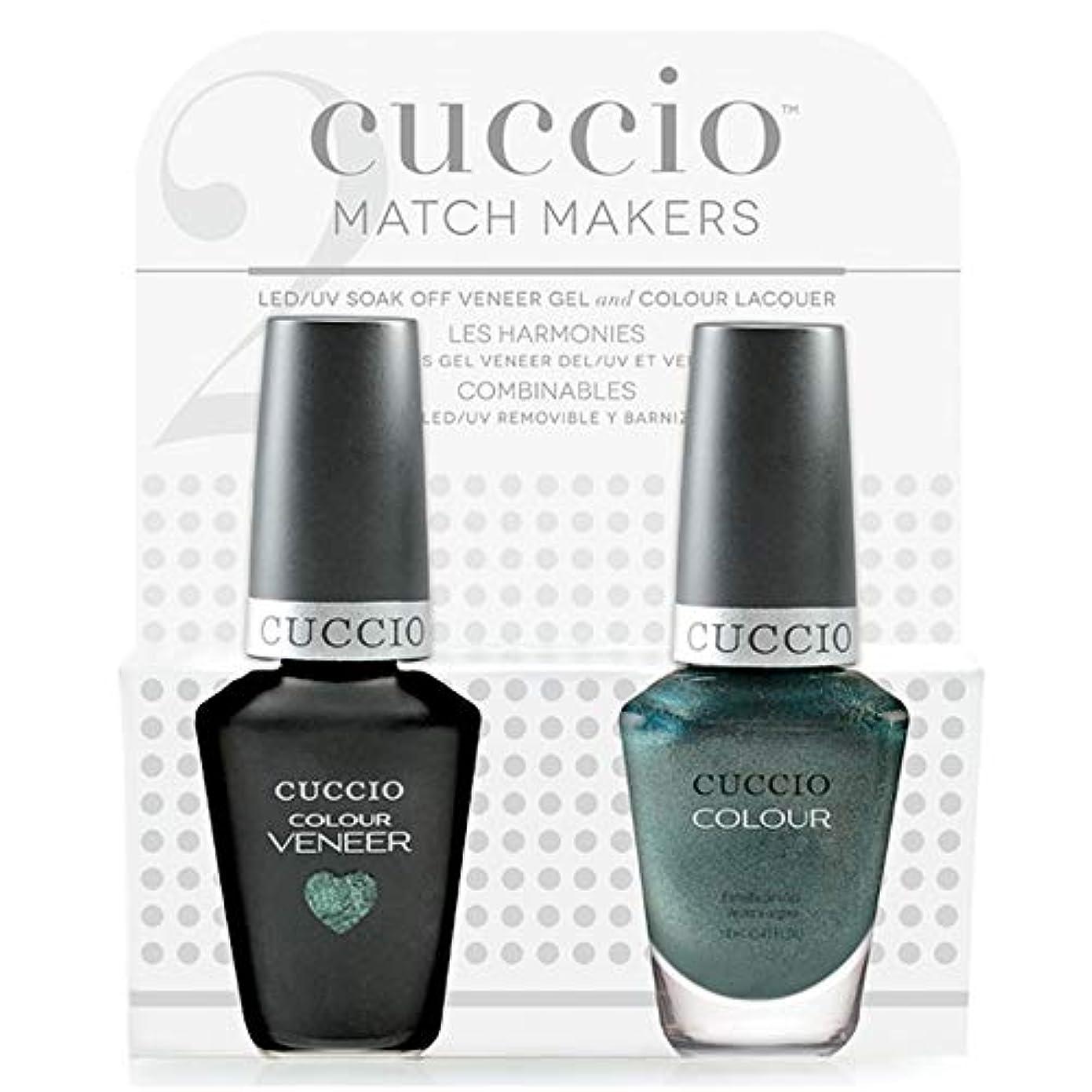 宝石通り神秘的なCuccio MatchMakers Veneer & Lacquer - Notorious - 0.43oz / 13ml Each