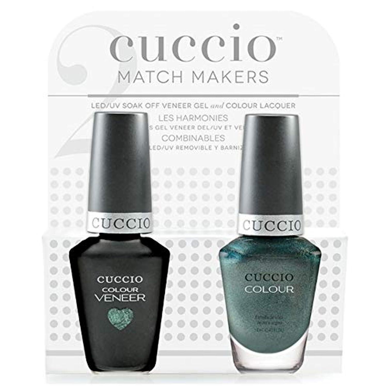 遮る促進するロボットCuccio MatchMakers Veneer & Lacquer - Notorious - 0.43oz / 13ml Each