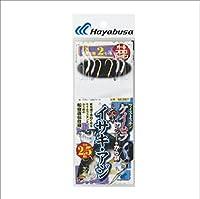 ハヤブサ(Hayabusa) 海戦イサキ・アジ ツイストケイムラレインボー&から鈎2.5m 3本鈎 SE367 3/3-2.5-2.5
