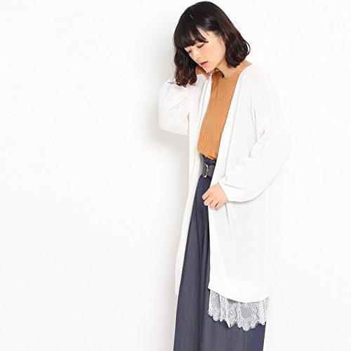 (クチュールブローチ) Couture Brooch 【WEB限定・80%OFF】ローゲージニットカーディガン 50832402 38(M) オフホワイト(003)
