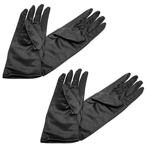 フェリモア 手袋 サテン フォーマル ウェディング コスプレ...