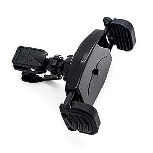 Mountek AIRGRIP+ iPhone〜iPad mini対応 エアコン吹出口にガッチリ取り付く はさみ込み式 スマホ車載ホルダー エアーグリップ プラス