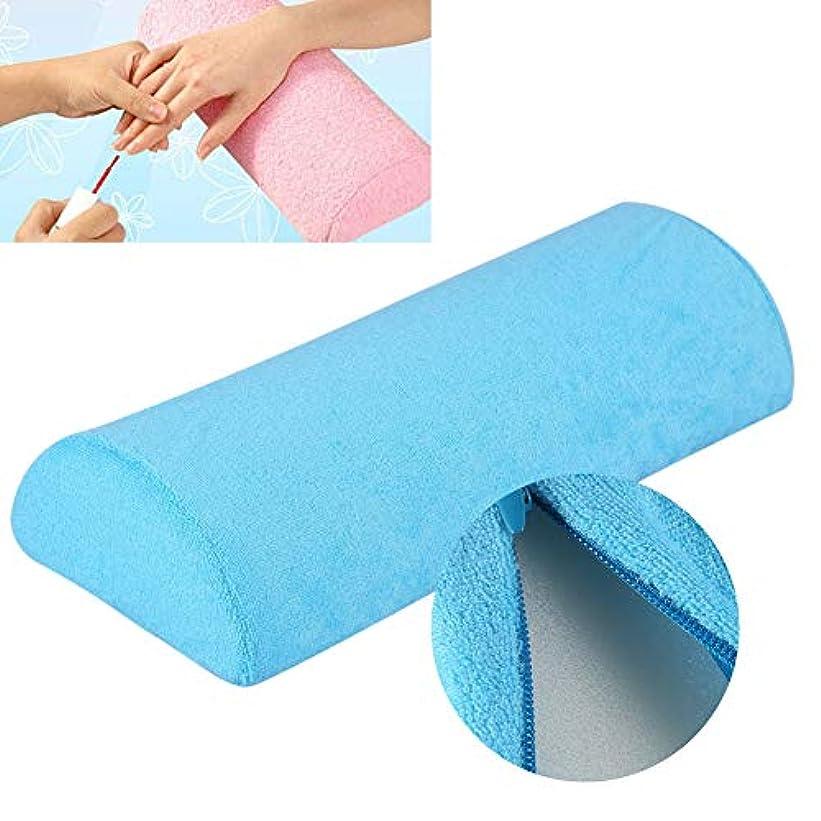 固執ビルマ安西ochunネイル用アームレスト アームレスト ネイル ハンドクッション 10色 サロン ハンドレストクッション 取り外し可能 洗える ネイルアートソフトスポンジ枕(09)
