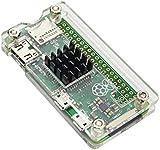 TOOGOO ヒートシンク付き アクリルプロテクターカバーケースRaspberry Pi Zero用(透明)