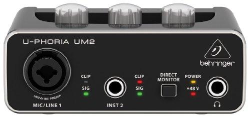BEHRINGER ベリンガー USBオーディオインターフェイス UM2