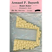 Armand P. Bayardi 1:32 1:35 54mm ストーンウォールルイン #2 樹脂製ジオラマ #W54/31B