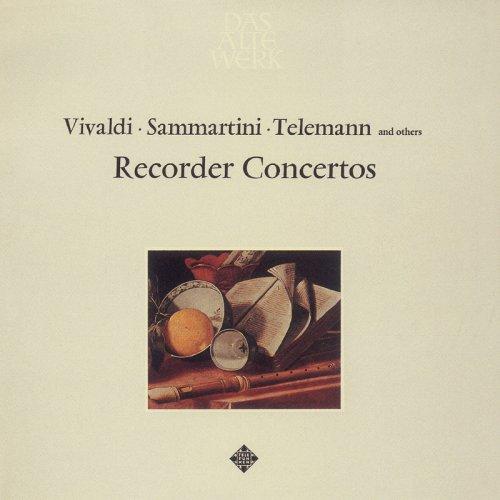 ブロックフレーテ協奏曲集:ヴィヴァルディ/サンマルティーニ/テレマン/ノード