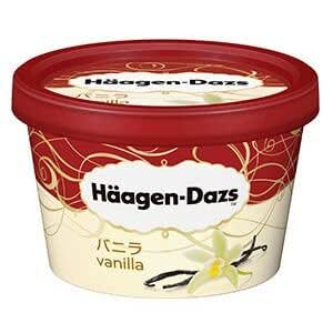 【ハーゲンダッツアイスクリーム】 ミニカップ バニラ 6個