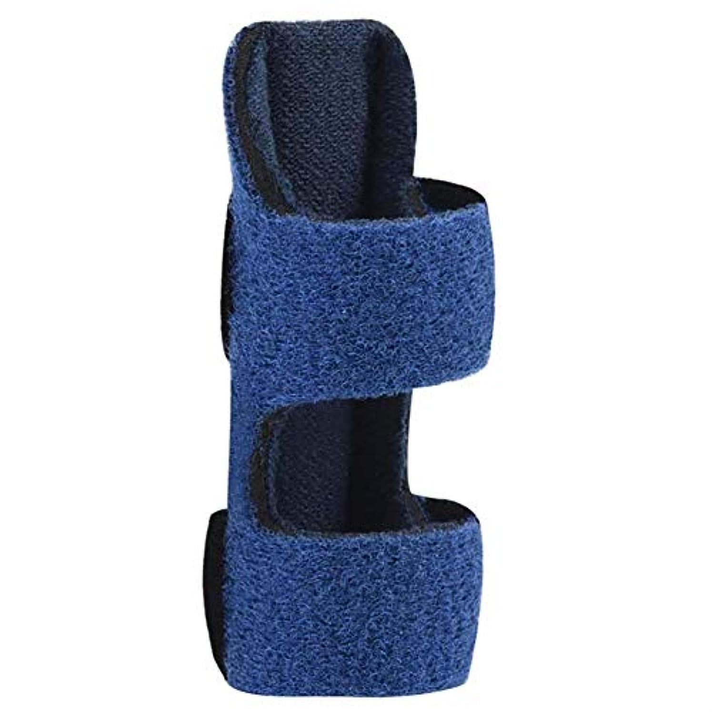 キモい休み従順な指のけがに支えられて、指の副木は指をまっすぐにして真直度を伸ばし、関節炎の固定バンドを調整することができます,2PCS