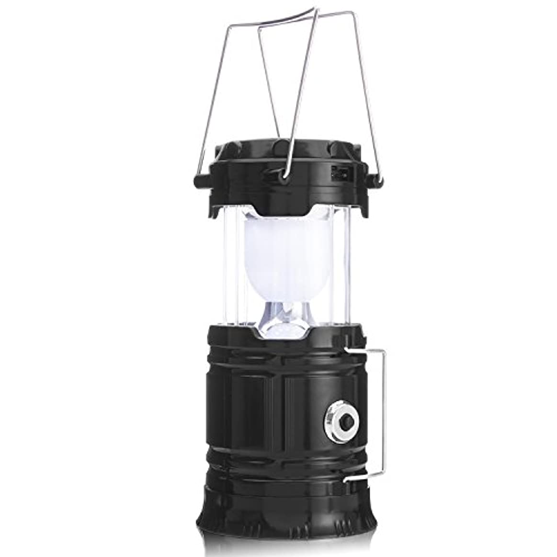 有害な工業用エンドウOFTEN LEDランタン 携帯型 折り畳み式 太陽エネルギー ポータブル 防災対策 アウトドア 登山 夜釣り 充電式 懐中電灯 スライド式 ハイキング 明るい