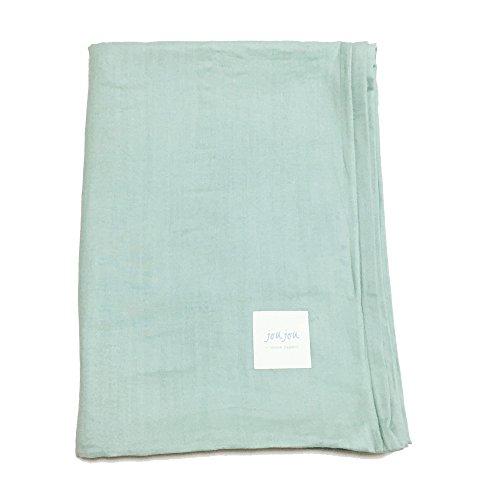 joujou in MOOR FABRIC 掛け布団カバー シングル 150×210cm ミント コットンシュガー 和晒し 綿 100% 日本製