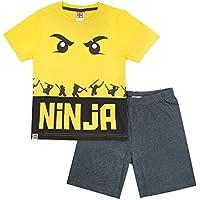 official Lego Ninjago Ninja Characters Boys Pyjamas