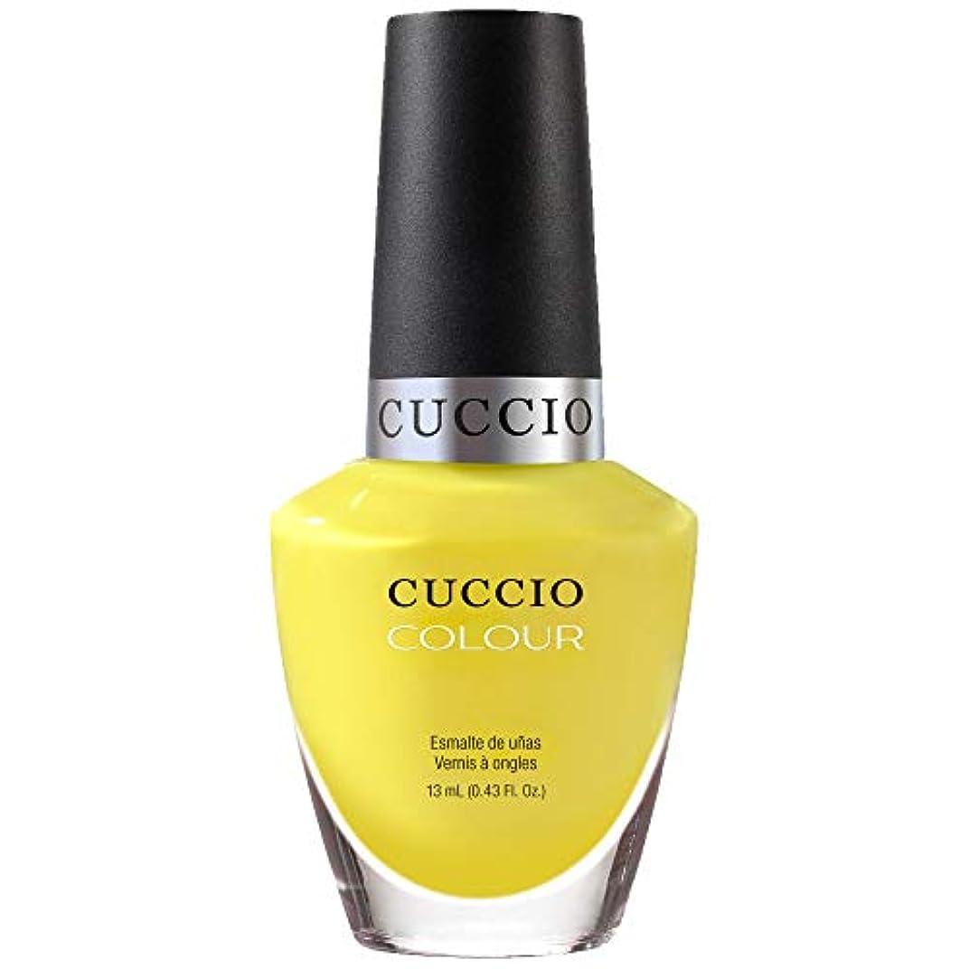 ストレッチインタビュー気分が良いCuccio Colour Gloss Lacquer - Lemon Drop Me A Line - 0.43oz / 13ml