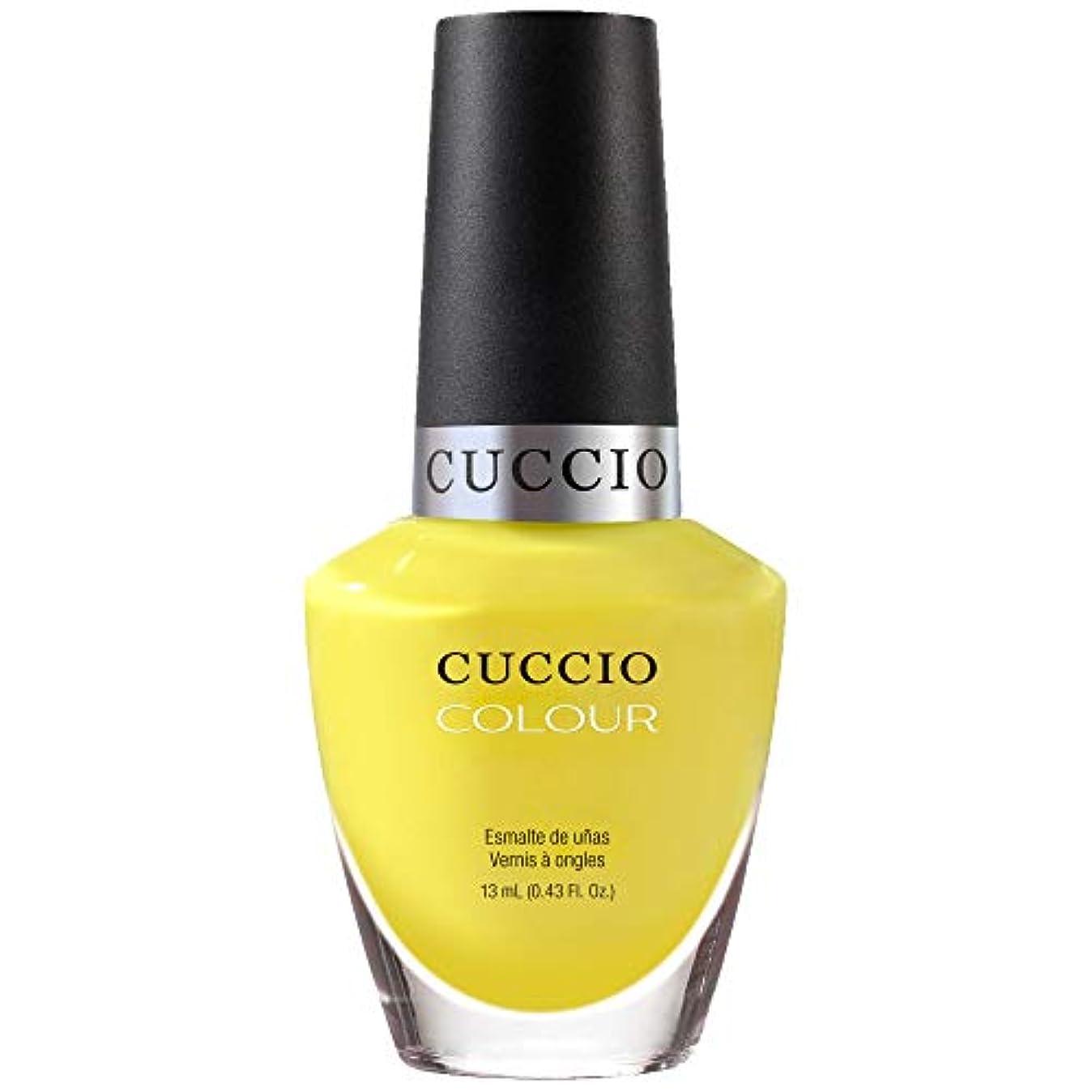 どう?大宇宙見出しCuccio Colour Gloss Lacquer - Lemon Drop Me A Line - 0.43oz / 13ml
